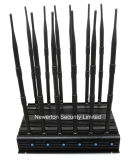 Algemeen begrip 12 GPS VHF UHF Lojack 2g 3G 4G All Bands Signal Jammer Blocker van Antennas Adjustable WiFi