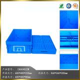 Comercio al por mayor caja plegable de plástico con tapa para almacenamiento