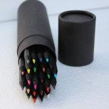 """[هيغقوليتي] يشبع لوّن طول 7 """", 24 قلم قرطاسيّة في قصدير صندوق"""