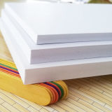 Feuille non transparente en plastique dure de blanc de feuille en plastique rigide de PVC