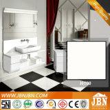 أبيض وأسود الطابق ملمع بلاط نانو Porcelanato 600X600 (J6T00، J6T05S)