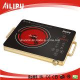 Piastra riscaldante elettrica portatile dell'apparecchio per la cottura dei cibi di CB/CE con il corpo del metallo