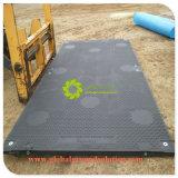 黒いカラーまたは反影響の移動式HDPEの販売の工場価格のための一時道のマット