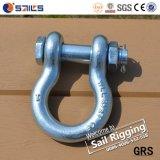 Wir G2130 galvanisierten Bolzenanker-Bogen-Fessel