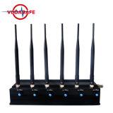 GPS Cellphone Bluetooth van WiFi Stoorzender, Hoge Macht Draagbare WiFi en Bluetooth en Draadloze Video-audio Blocker van het Signaal
