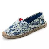 Cómodo y agradable baratos Casual Loafer Mujeres el Diseñador de zapatos de lona