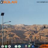 IP68ゲル電池の高い内腔の太陽動力を与えられた街灯