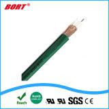 Revestimento de PVC cobre entrançado nua o cabo coaxial para DBS-satélite de radiodifusão directa