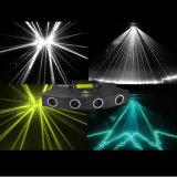 4 het hoofdLicht van de Laser voor de Partij van DJ