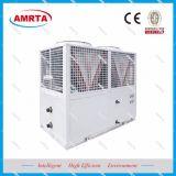 Role água arrefecido a ar Industrial Modular Chiller Glicol / Leite Chiller de Agua