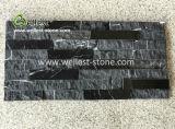 Rebord de marbre noir Pierre moderne pour les longs décoration murale