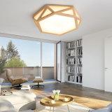 El chino moderno estilo de decoración en madera, la luz de techo