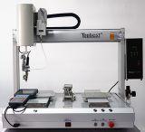 電池式のはんだごてのロボットまたは電池のはんだ付けする機械またはデスクトップの5軸線の単一のヘッド倍Y 360度の回転自動はんだ付けするロボット;