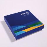 Пользовательский цвет бумаги для печати подарок украшения настоящей упаковке