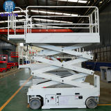 6-14mの電気自動推進は空気作業のための上昇か持ち上がるプラットホームを切る