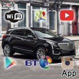 Caixa de navegação Android Sistema Cue com GPS Waze Yandex Youtube para Cadillac XT5