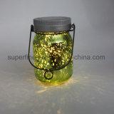 protection environnementale Solar Firefly jar pour la maison de l'éclairage des feux