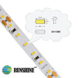 Samsung 3014 SMD LED flexíveis faixa luminosa