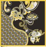 Lenço de seda personalizado para senhoras Pringting Online para pequenas