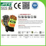 保護TPRのスリップ防止耐衝撃性の機械安全作業手袋