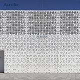 2018 Foshan personnalisés mur de façade et le plafond de panneaux perforés en aluminium
