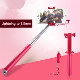 Lampo universale all'adattatore di 3.5mm per il bastone di Monopod Selfie per iPhone7/7p/8/8p