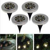 L'énergie solaire pelouse lampe LED étanche à l'extérieur la masse du plancher de métro lampe