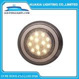 En la pared de acero inoxidable 316 Piscina LED Lámpara de bajo el agua con la garantía de 2