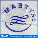 Decoração em branco Personalizado Frigorífico Acrílico Moldura Fotográfica do magneto