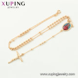 Xupingの新しい方法映像の写真フレームのイエス・キリストの十字の数珠のネックレス