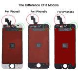 Schermo di visualizzazione brandnew dell'affissione a cristalli liquidi per per lo schermo di tocco di iPhone 5s di iPhone 5c di iPhone 5
