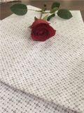 100% tela/galleta polivinílicas impresas algodón de la tela del hilado de lino de la tela