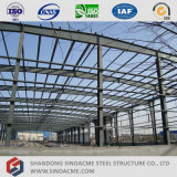 Sinoacme fabrizierte helles Stahlkonstruktion-Werkstatt-Gebäude vor