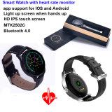 心拍数のモニタK88hが付いているBluetoothの防水スマートな腕時計