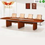 Mesa de madeira maciça, mesa de conferência, mesa de reunião alta alta (HY-A7538)