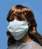 Laço cirúrgico 3-Ply na face Máscaras anti-poeira anti-poeira