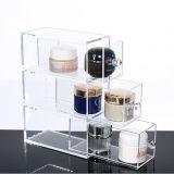 De aangepaste Transparante AcrylDoos van de Opslag van het Type van Lade Kosmetische