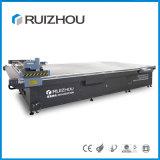 Couro do CNC do preço de fábrica nenhuma máquina de estaca do laser