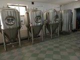 中国の最もよい品質経験される20年の潰すタンクビール沸騰タンクビール発酵タンク労働者を磨く