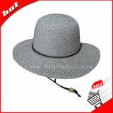 El papel de la moda Sombrero de Paja Hat