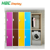 Supermarket Fingerprint ABS Locker for Staff