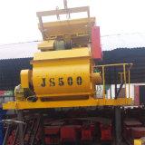 Tipo forzado automático Mezclador de concreto JS500