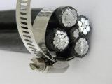 Cable de gota de aluminio del servicio de cable del saco