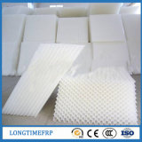 Contentor de embalagem de tubo de inclinação de PVC para tratamento de esgoto