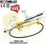 Bombas de mano hidráulica portátil con Capacidad de aceite de 7500cc (HHB-700)