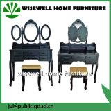 Dormitorio Dressing Table con 3 espejo (W-HY-002B)