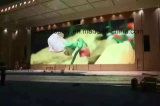 Fabricantes da China Indoor Advertising Curved Big LED Display