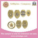 Hauptquartier-Polizei Badge Militärabzeichen reverspin-3D