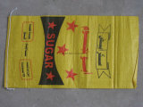 Kraftpapier-Papiertüten für Holzkohle-Startwert- für Zufallsgeneratorkitt-Puder-Verpackungs-Gebrauch 25kg
