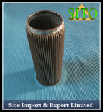 Filtre de cartouche de pétrole de treillis métallique d'acier inoxydable